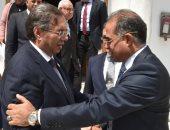 وكيل مجلس النواب يستقبل نائب رئيس البرلمان الاأفريقى