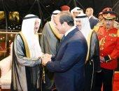 """صباح الأحمد لـ""""السيسى"""": مصر تتمتع بمكانة خاصة لدى الشعب الكويتى"""