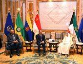 السيسى: نقدّر مواقف الكويت الداعمة لإرادة الشعب المصرى وجهوده التنموية