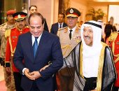 """شاهد.. """"إكسترا نيوز"""" تعرض انفوجراف عن العلاقات المصرية الكويتية"""