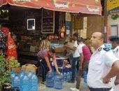 صور.. هدم سور مخالف وضبط مخالفات إشغالات الطريق شرق الإسكندرية