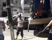 مياه القناة تنتهي من أعمال صيانة وإصلاح شبكات سوق الجمعة بالإسماعيلية