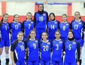 مصر تواجه الكاميرون فى ثان أيام بطولة العالم لناشئات الطائرة