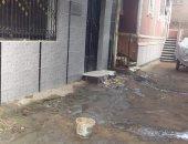 قارئ يشكو من طفح مياه الصرف الصحى بكفر محمود فى مركز الباجور بالمنوفية