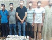 ضبط لصوص لانتحالهم صفة رجال شرطة وسرقة مواطن أمام بنك ببنى سويف