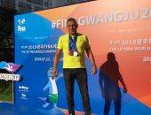 نبيل إبراهيم: أسعى لإعادة الريادة المصرية فى سباقات سباحة المياه المفتوحة