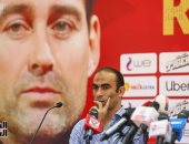 """صور.. سيد عبد الحفيظ لـ فايلر مدرب الأهلى الجديد: """"ستنجح بنا وسننجح بك"""""""