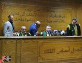 """بدء جلسة النطق بالحكم على 208 متهمين بـ""""تنظيم بيت المقدس"""" الإرهابى"""