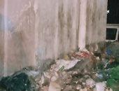 شكوى من انتشار القمامة أسفل كوبرى المظلات