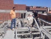 صور .. إيقاف أعمال للبناء المخالف شرق الإسكندرية