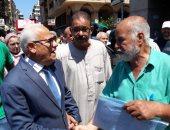 صور.. محافظ بورسعيد خلال حوار مفتوح مع المواطنين: الاهتمام بتطوير الخدمات بالأحياء