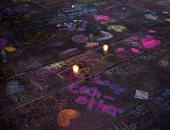 """بالشموع والورود.. تأبين ضحايا حادث إطلاق النار فى """"أوديسا"""" بولاية تكساس"""
