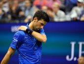 ديوكوفيتش ينسحب من بطولة أمريكا المفتوحة للتنس بسبب إصابة بالكتف