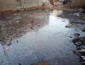 شكوى من غرق قرية الترزى بكفر الشيخ بمياه الصرف الصحى