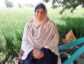 """صور.. """"عفاف محمود"""" أول سيدة تتولى إدارة جمعية زراعية بمركز الزقازيق"""