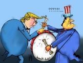 كاريكاتير الصحف الإماراتية.. أمريكا تدق طبول الحرب فى الشرق الأوسط