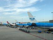 إضراب يعطل الرحلات الجوية فى مطار سخيبول بأمستردام