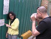 """أغرب """"جاليرى"""" فى مصر.. سور مترو الزمالك يقع فى يد """"الفنانين"""""""