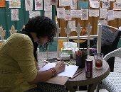 """أغرب """"جاليري"""" فى مصر.. سور مترو الزمالك يقع فى يد """"الفنانين"""".. معقل طلاب فنون جميلة يحول المشهد الجامد لأعمال فنية مبهجة.. القائمون على الفكرة: لم نستسلم لحجب رؤية المشاهد الجميلة.. وصنعنا ما نحب بأنفسنا"""