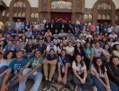 وفد من شباب الكنيسة بالمهجر يزور كاتدرائية العاصمة الإدارية الجديدة