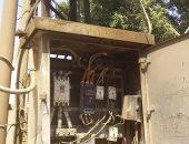 تهالك محول كهرباء بقرية بمركز أسنا بالأقصر ..صور