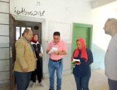 صور.. تعليم الإسكندرية تنظم قوافل تعليمية للتأكد من جاهزية المدارس