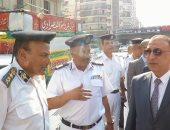 مدير أمن الجيزة يقود حملة لإزالة الإشغالات بشوارع الدقى