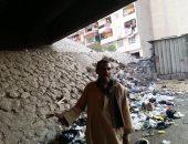 القمامة فى نفق المسابك بالوراق.. واستغاثة أهالي الحى ..صور