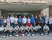 الأولمبية تكرم منتخب الطائرة الحاصل على رابع كأس العالم للناشئين
