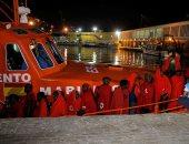 سفينة إغاثة تنقذ 182 مهاجرًا وتنتظر تصريح الرسو فى ميناء بأوروبا