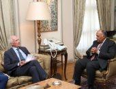 وزير الخارجية يبحث مع المنسق العام للاتحاد الأوروبي سبل مواجهة الإرهاب