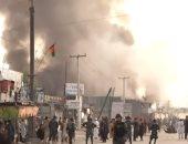 استمرار البحث عن جثث بعد مقتل 69 على الأقل فى تفجيرات بمسجد فى أفغانستان