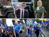 صور.. العالم هذا المساء.. بلجيكا تبدأ احتفالاتها بالذكرى الـ75 لتحريرها من الاحتلال.. إيفانكا ترامب فى زيارة لكولومبيا لدعم التنمية والازدهار للمرأة.. مظاهرات أمام البرلمان البريطانى احتجاجا على قرارات جونسون