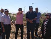 """صور .. """"مياه الإسكندرية"""": نقل خطوط المياه المتعارضة بطريق العلمين"""