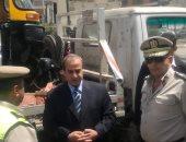 صور .. مدير أمن الغربية يترأس حملة مرورية بمدينة طنطا