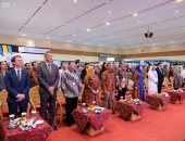 حاكم جاكرتا يفتتح جناح السعودية فى معرض الكتاب الدولى بإندونيسيا