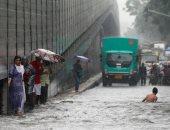 اضطراب حركة المرور والرحلات الجوية فى مومباى بسبب الأمطار الغزيرة