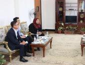 رئيس جامعة أسوان يلتقى مدير المركز الثقافى الكورى بالقاهرة
