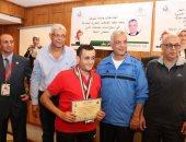 رئيس جامعة المنوفية يكرم الفائزين فى ختام الأنشطة بأسبوع شباب الجامعات