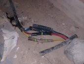 اضبط مخالفة...أهالى عمارات توشكى بالقصير يشكون تهالك كبلات الكهرباء