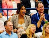 بريانكا شوبرا تدعم سيرينا ويليامز فى بطولة أمريكا المفتوحة للتنس