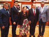 صور.. حفل وداع بالسفارة المصرية ببرلين للسفير بدر عبد العاطى بعد انتهاء فترته