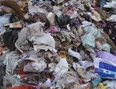 القمامة تحاصر شارع الملكة نظمى بفيصل ..صور