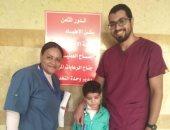 لأول مرة فى مصر أطباء ينقذون حياة طفل بتخليق صمام من أنسجة الجسم