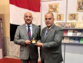 السفير المصرى ومحافظ جاكارتا يفتتحان الجناح المصرى فى معرض إندونيسيا الدولى للكتاب