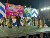 رئيس قصور الثقافة يشهد أول عروض مهرجان الإسماعيلية للفنون الشعبية.. صور