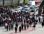 صور.. إجلاء المئات فى تشيلى خلال محاكاة كارثة تسونامى فى فالبارايسو