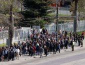 مئات المواطنين يحاكون كارثة زلزال تسونامى فى تشيلى