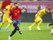 إسبانيا تتفوق على رومانيا بهدف راموس فى الشوط الأول من تصفيات يورو 2020