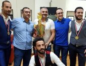بلدية المحلة تحقق أول كأس مصر لبطولة بليارد سنوكر